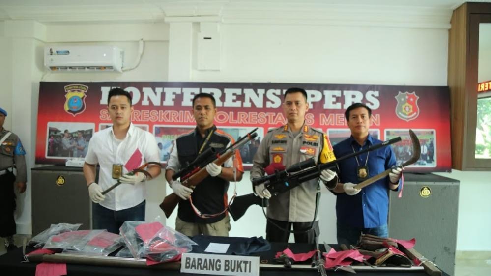 Satreskrim Polrestabes Medan Tangkap Pelaku Penganiayaan Jarisman Saragih