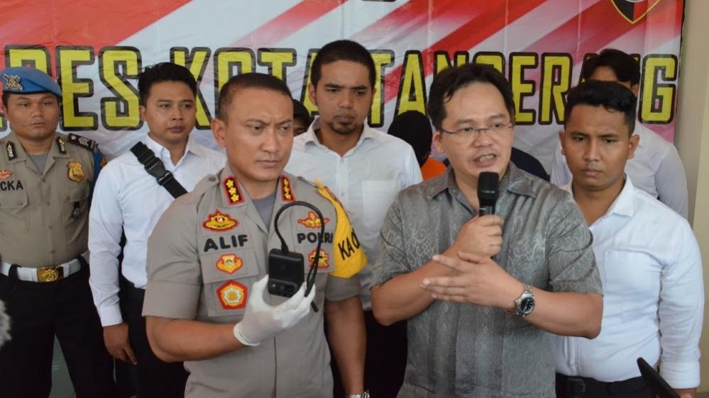 Kapolresta Tangerang Bersama Penyedia Layanan Rumuskan Sistem Keamanan Taksi Online