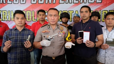 Komplotan Perampok Bersenpi Dilumpuhkan Timas Panas Polrestabes Tangerang