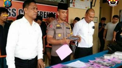 Selama 3 Pekan, Polres Labuhanbatu Amankan 65 Tersangka Tindak Kriminal