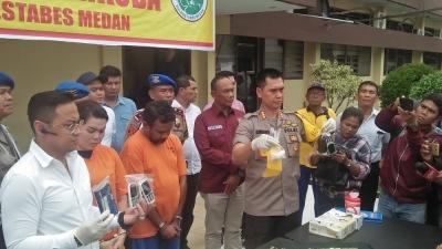 Satres Narkoba Polrestabes Medan Berhasil Membekuk Zakir Husein Alias Jakir Usin Bandar Narkoba