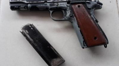 Polres Langkat Amankan Satu Unit Senjata Api Jenis FN