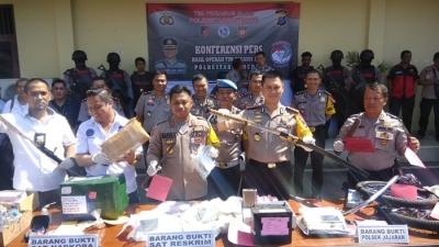 Kapolrestabes Medan Berhasil Menekan Angka Kriminalitas Di Kota Medan
