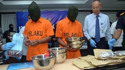 BNN Sita 44,7 Kg Sabu Tersangka Di Medan Binjai Aceh