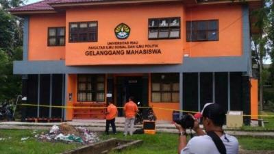 Densus 88 Amankan Tiga Orang Kampus Fisip Universitas Riau