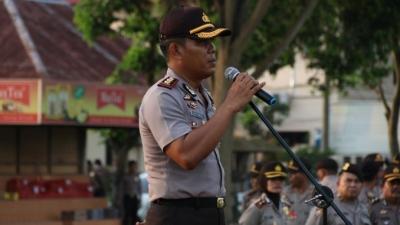 Kapolres Deli Serdang Pimpin Apel Kesiapan Pengamanan TPS Pilkada & Pilgubsu 2018