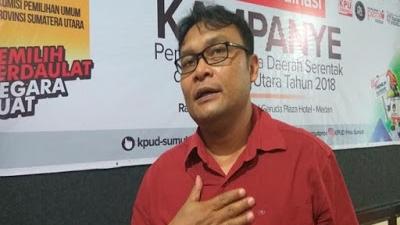 KPU Sumut Tidak Ambil Pusing Keberatan Parpol Pindah Lokasi Kampanye Akbar
