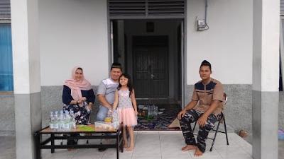Komandan Lanal Simeulue Beserta Keluarga Berkunjung Ke Posal Labuhan Bajau
