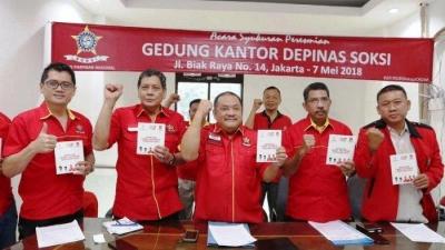 Buku 'Garda SOKSI Jokowi Dua Periode Cerdas dan Tulus' Diluncurkan