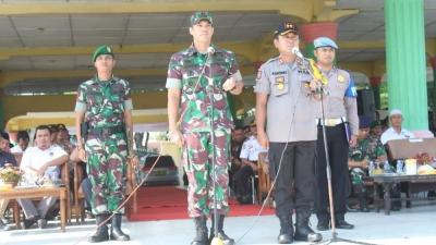 Polres Asahan Gelar PAM Pemilu 2019