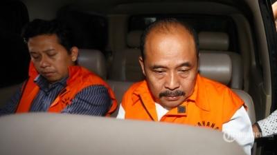 KPK Limpahkan Berkas Perkara Bupati Nonaktif Cianjur Irvan Rivano Muchtar ke Pengadilan