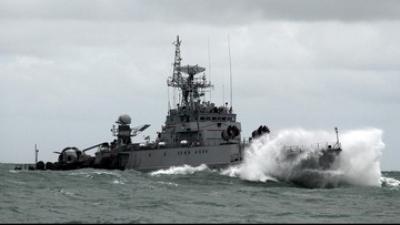 Ketegangan di Laut Natuna, Kapal Vietnam Tabrak Kapal TNI AL