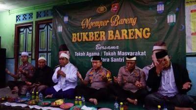 Buka Puasa Pertama, Kapolresta Tangerang Ngemper Bareng Santri