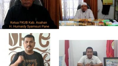 Tokoh Agama dan Tokoh Masyarakat Kabupaten Asahan Serukan Tolak Aksi People Power