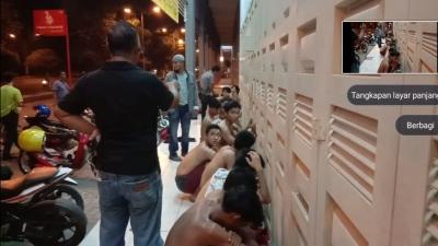 Polsek Per Cut Ciduk 19 Pelajar Karena Tawuran Di Jalan Selamat Ketaren