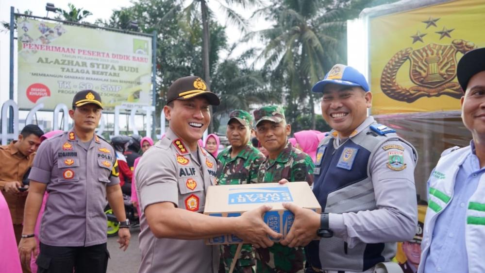 TNI-Polri Tangerang Buka Puasa Bareng Wartawan