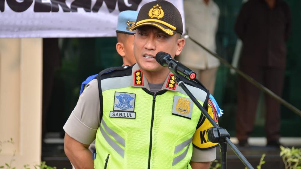 Polresta Tangerang Terjunkan Ratusan Anggota Amankan Malam Takbiran