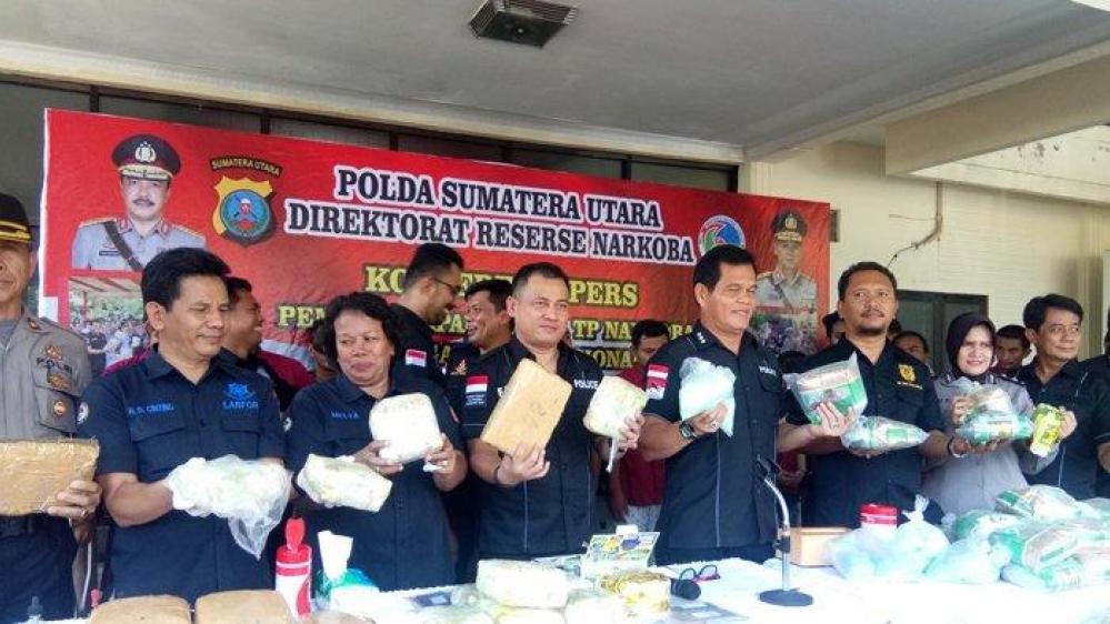 Dirnarkoba Polda Sumut Kombes Pol Hendri Marpaung, Berhasil Amankan Tersangka Domi