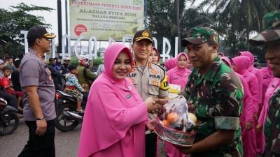 Pengamanan Idulfitri, Anggota Polresta Tangerang Diberi Supelemen