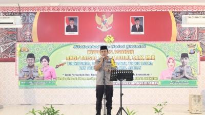 Kapolres Asahan : Tolak Kerusuhan, Damailah Indonesia  Forkopimda, Tokoh Agama dan Tokoh Masyarakat Kabupaten Asahan Deklarasi Tolak Kerusuhan