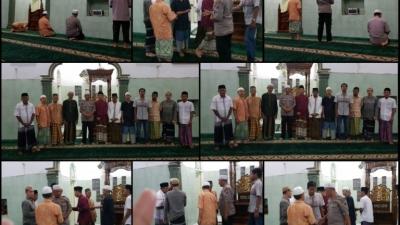 Polsek Percut Seituan Sholat Subuh Berjamaah Di Masjid Al Kasim