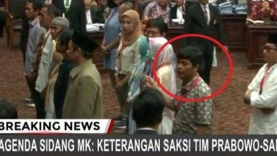 Dukung Prabowo di Pilpres, Ponakan Mahfud MD Hairul Anas Bocorkan Materi Pelatihan TKN di Sidang MK