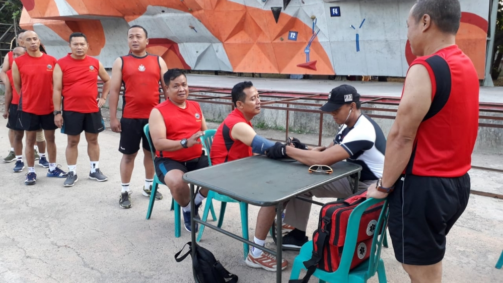 Pasiops Kodim Solo Tegaskan Prajurit Jangan Malas Berolahraga