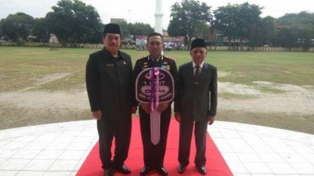 Momen HUT Bhayangkara ke 73, Polres Asahan dapat Kendaraan Dinas dari Plt Bupati
