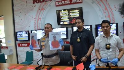 Polresta Tangerang Ungkap Curas Toko Emas Balaraja, 2 Terduga Pelaku WN Malaysia