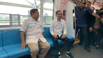 Lokasi Pertemuan Jokowi-Prabowo di Stasiun MRT Dinilai Ide Genius