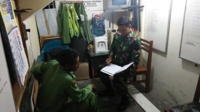 Apa Tujuan Piket Koramil 03/Serengan Ajak Linmas Patroli Malam