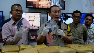 Polresta Tangerang Lumpuhkan Pengedar Sabu Bersenpi