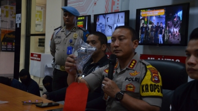 Beraksi Di 30 TKP Dengan Senpi Rakitan, Kawanan Curanmor Dilumpuhkan Polresta Tangerang