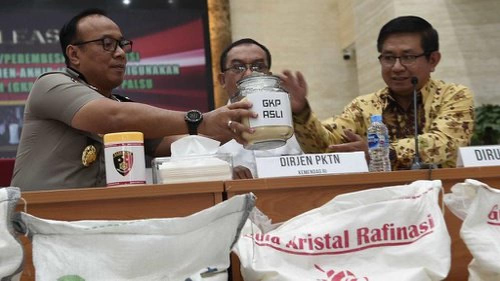 Bareskrim Bongkar Kasus 390 Ton Gula Rafinasi Ilegal di Jateng