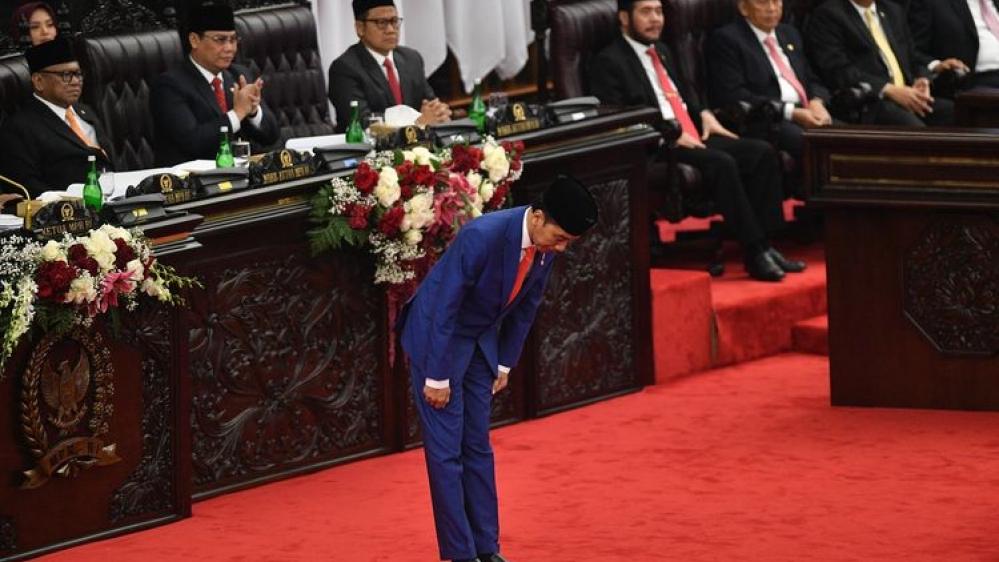 Sidang Bersama DPD-DPR, Jokowi Minta Izin Pindah Ibu Kota ke Kalimantan