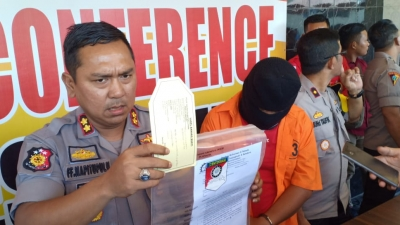 Ancam Demo dan Peras Pegawai Kantor Dinas Perikanan, Oknum Ketua Aktifis Asahan di OTT Polisi