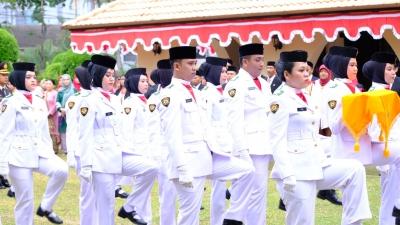 Pekerja Migran Indonesia di Johor Didaulat Menjadi Paskibra