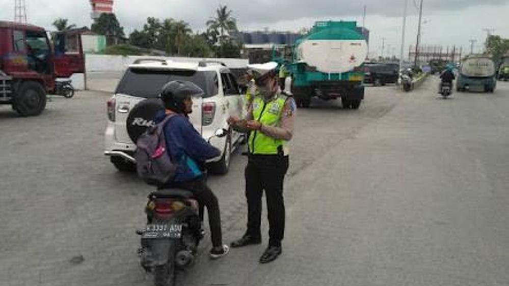 Operasi Patuh Toba 2019 Hari Ke - 3 Satlantas�  Polres Pelabuhan Belawan
