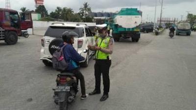 Operasi Patuh Toba 2019 Hari Ke - 3 Satlantas Polres Pelabuhan Belawan