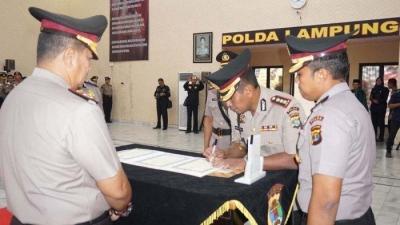 Jabat Dirlantas Polda Lampung yang Baru, Kombes Pol Chiko Akan Fokus Jalur Rawan Laka