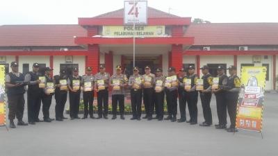 Polres Pelabuhan Belawan Launching Sentral Pelayanan Terpadu SPKT