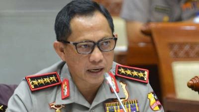 Kapolri Beri Penghargaan Empat Kepala Kepolisian ASEAN