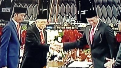 Sah! Jokowi-Ma'ruf Resmi Jadi Presiden dan Wakil Presiden 2019-2024