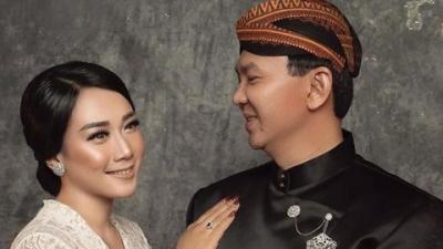 Foto Pernikahan Ahok dan Putri Nastiti Muncul, Terlihat Mesra dan Romantis