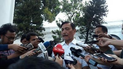 Jokowi Tunjuk Luhut Pandjaitan Jadi Menko Maritim dan Investasi