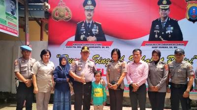 AKBP H.Ikhwan Lubis SH MH, Polres Pelabuhan Belawan Memberikan Biaya Perobatan Gratis Untuk Hendra Yuriza