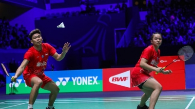 Hasil Final French Open 2019 - Kalahkan Wakil China, Praveen/Melati Back-to-Back Juara