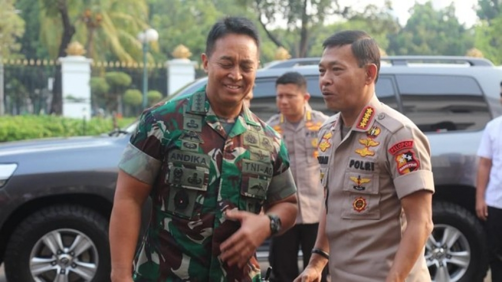 Bertemu di Mabes AD, KSAD-Kapolri Kenang Masa Tugas Usai Bom Bali