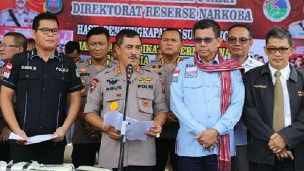Ditresnarkoba Poldasu Gagalkan Penyelundupan 46 Kg Sabu Dan Ribuan Ekstasi
