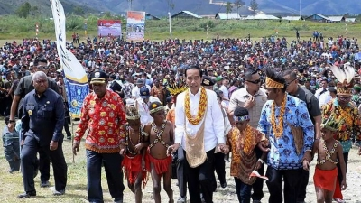 Presiden Jokowi: Bukan Saya yang Perintahkan Pemekaran Papua